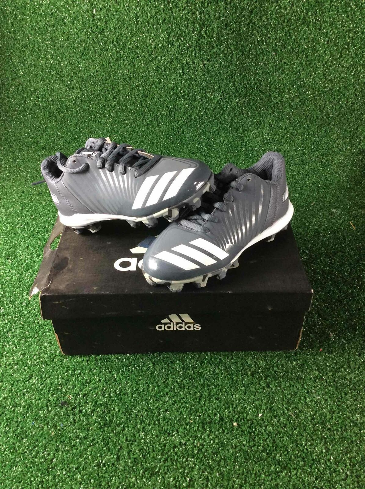 Primary image for Adidas Icon MD K 12.0 Youth Size Baseball Cleats
