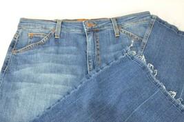 New Joe's High Rise Wide Leg Crop Jeans Size 31 USA Marcia Wasteland Gau... - $84.14