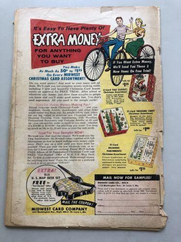 Detective Comics (1937 1st Series) #272 Cover Detatched Brittle Spine Split