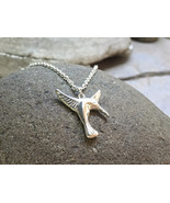 """Humming Bird Pendant - Sterling Silver Pendant on 18"""" Sterling Silver Chain - $57.00"""