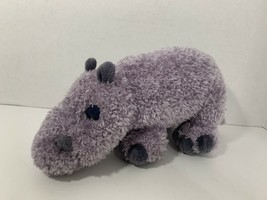 Gund Hoover purple hippo hippopotamus plush stuffed animal toy - $4.94