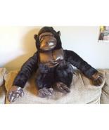 Kids Safari Gorilla Plush Halloween Costume Wrap N Ride Monkey One Size ... - $25.63