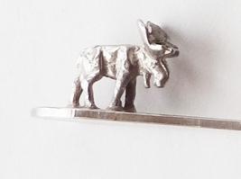 Collector Souvenir Spoon Canada Ontario Vermilion Bay Moose 3D Figural - $6.99