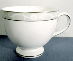 Wedgwood Icing Tea Cup Platinum Rimmed Made in U.K New - $11.99