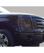 09-14 Ford F150 precut headlight + foglight tint vinyl smoked covers -$5... - $22.76
