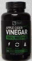 Zeal Natural's Apple Cider Vinegar 1560 mg Dietary Supplement - 120 Caps... - $16.99