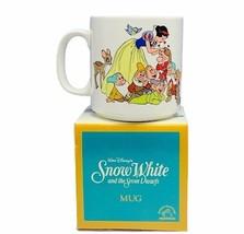 Snow White mug cup Seven Dwarfs 7 Disney Applause vtg NIB box Dopey Grum... - $28.98