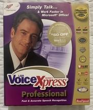 L & H Voice Xpress Professional Version 5, Voice Recognition For Windows... - $39.58