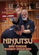 Ninjutsu Wind Evasive Movement DVD Stephen Hayes contortion techniques e... - $24.00