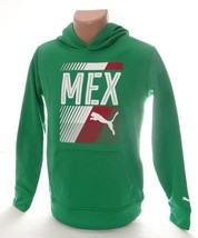 Puma Mexico Green Hoodie & Cinch Carry Sack Youth Boy's Large 14-16 NWT - $48.25