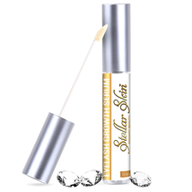 Hair growth serum for eyelashes eyebrow gel full thick longer eyelash ey... - $14.99