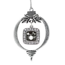 Inspired Silver Table Set Classic Holiday Decoration Christmas Tree Ornament - $14.69