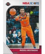 Russell Westbrook NBA Hoops 19-20 #129 Houston Rockets Oklahoma City Thu... - $0.75