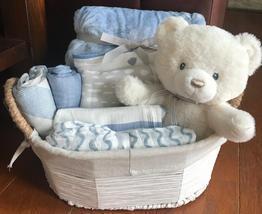 Miles Bear Baby Gift Basket - $69.00