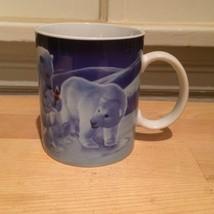Collectible Coca Cola Polar Bears Christmas Coffee Mug Coke - £10.18 GBP