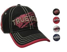 True Religion Men's Premium Vintage Print Baseball Trucker Hat Cap TR1954