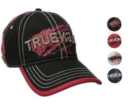 True Religion Men's Premium Vintage Print Baseball Trucker Hat Cap TR1954 image 1