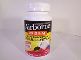 Airborne Original Immune System Vitamin C Very Berry 116 Chewable Tabs {VS-A} - $17.77