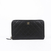 Chanel Quilted Caviar Organizer Wallet - $935.00