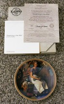 "Norman Rockwell ""Dreaming in the Attic"" Knowles Collectors Plate - $3.95"