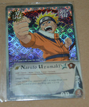 Naruto Uzumaki Pr #015 Angry Roar Ccg Tcg Foil Promo Card 2002 N/M - $9.90