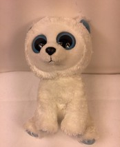 "TY Beanie Boo Buddy 9"" Plush Tundra Polar Bear Blue Ears Retired Stuffed... - $25.99"
