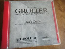 2996 Grolier  Multimedia Encyclopedia User Guide - $9.50