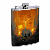 Super Hero Attack Em1 Flask 8oz Stainless Steel Hip Drinking Whiskey - $279,96 MXN