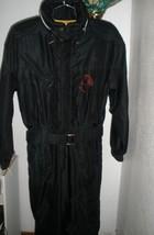 Men's Black Kaelin Snowsuit Skisuit Sz Medium Excellent Condition - $148.49