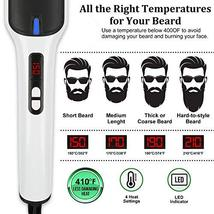 Beard Straightener, MASWATER - Second Generation Beard Straightening Brush with  image 6