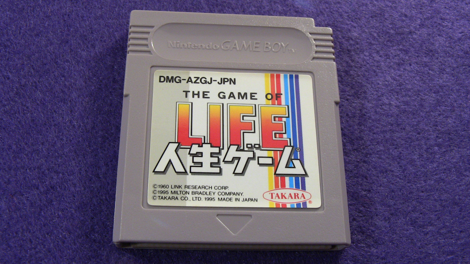 Primary image for The Game of Life  (Nintendo Game Boy GB, 1995) Japan Import