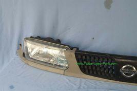 93-94 Nissan Tsuru Sunny Sentra B13 Headlights Head Light Lamps Set L&R w/ Grill image 3