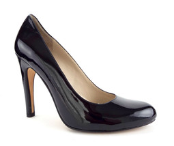 MICHAEL KORS Size 8 Black Patent Almond Toe Heels Pumps Shoes - $64.00