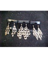 3 Pair of Bangle Ear rings for Pierced Ears - $7.95