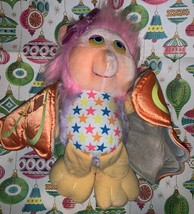 Hasbro Wing Dings Flighty Vintage Plush Butterfly Doll 1986 Original WingDings  - $15.00
