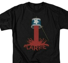 Carrie T-shirt Blood Bucket 1970's horror movie retro graphic tee MGM319 image 1