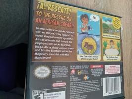 Nintendo DS Go Diego Go! Safari Rescue image 2