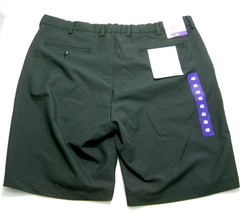 New GREG NORMAN Mens Dark Gray Ultimate Travel Shorts (Size 40) Chino Fl... - $12.95