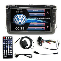 MULTI MEDIA DVD BLUETOOTH MP3 NAVIGATION GPS AUX IPOD VOLKSWAGEN VW PASS... - $227.69