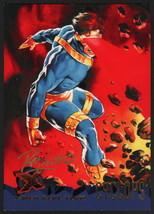 Dave DeVries SIGNED X-Men Art Trading Card ~ Cyclops 1995 Fleer Ultra - $16.82
