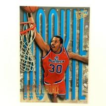 Rasheed Wallace 1995-96 Fleer Ultra Rookie Card #295 NBA Washington Bullets - $1.93