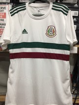 Adidas Mexico White Jersey Away 2018 Size Mans Large  Only - $84.15