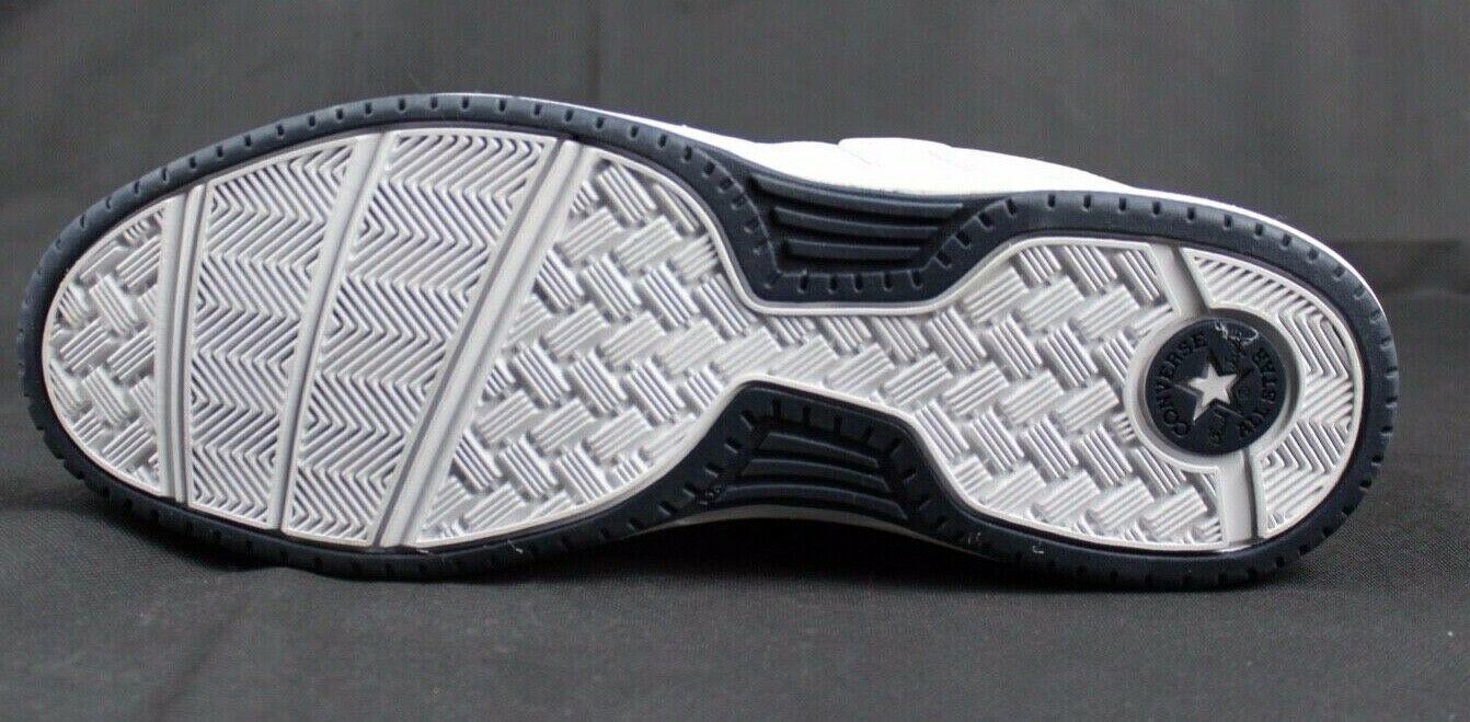 Converse Athletic Total Flex Uomo Scarpe Sneakers pelle Bianco Lacci Taglia US