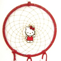 """Hello Kitty"" Handcrafted Dreamcatcher  DC 5  H... - $21.49"
