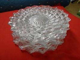 """Beautiful Elegant American FOSTORIA Set of 7 BREAD Plates...7.5"""" diameter - $45.45"""