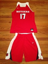 Nike Rutgers Knights Basketball Game Women's M Hyperelite Jersey Shorts 867774 - $61.77