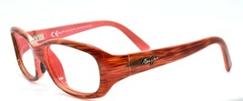 Maui Jim MJ219-12 Punchbowl Women's Sunglasses Brown Stripes / Pink FRAM... - $42.50