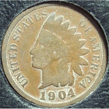 1904 Indian Head Penny G #0901 - $1.59