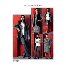 Vogue Patterns Casual Jacket and Vest 16-18-20-22-24-26 Green - $5.99