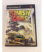 Smash Cars (PlayStation 2, PS2 2003) COMPLETE Uncommon FREE SHIPPING - $14.64